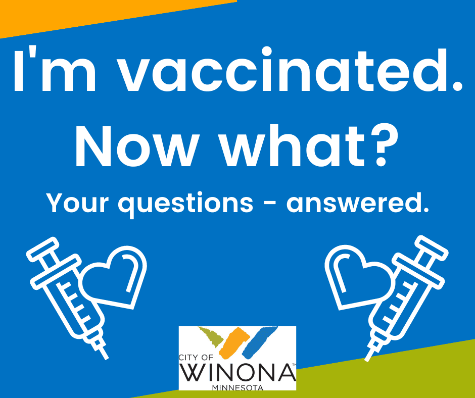 I'm vaccinated - now what image